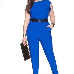 NWT Eloquii Royal Blue Jumpsuit